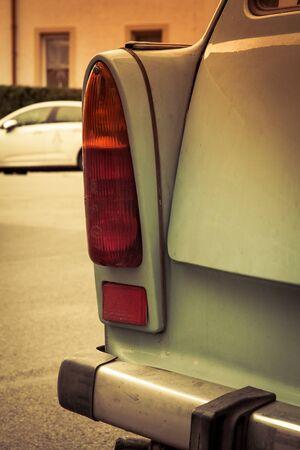 Trabant-Auto Standard-Bild