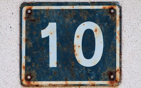 House number 10 Imagens