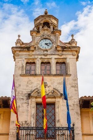 Alcudia town hall Imagens