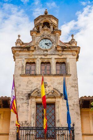 Alcudia town hall Stock fotó