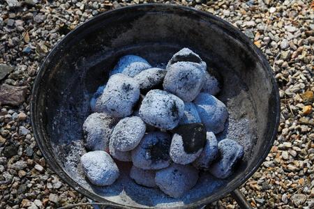 Barbeque coal