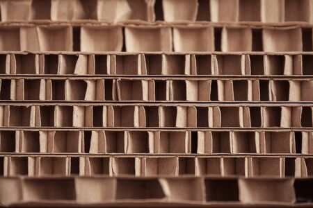 Different sheets of carton as texture