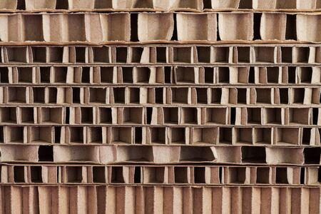 A stack of carton as background