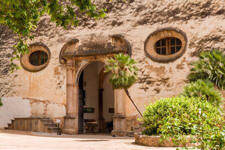 The Garden of the Jardines de Alfabia in Majorca