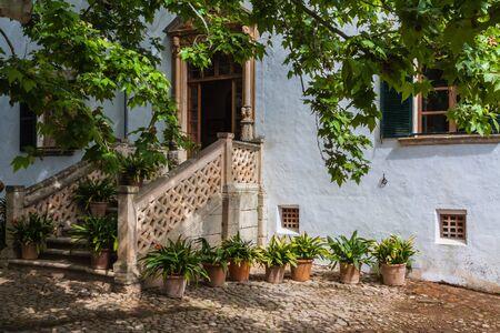 The Garden of the Jardines de Alfabia
