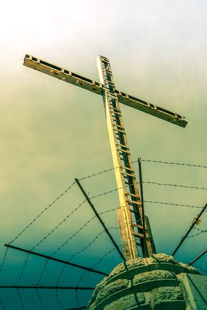 The cross as a symbol for Jesus Christ