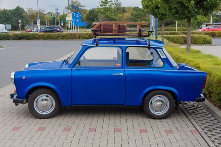 The Trabant car from Gdr, east germany