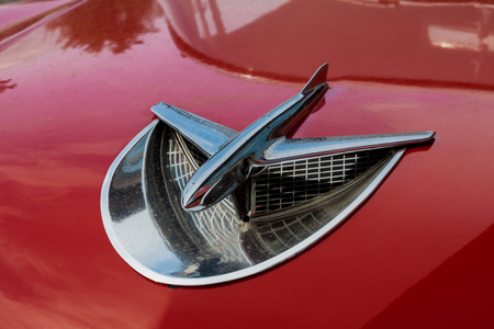 1956 Buick Special hood ornament