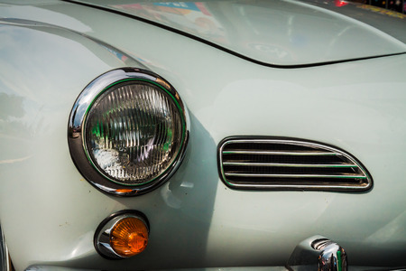 Front of the Volkswagen Karmann Ghia