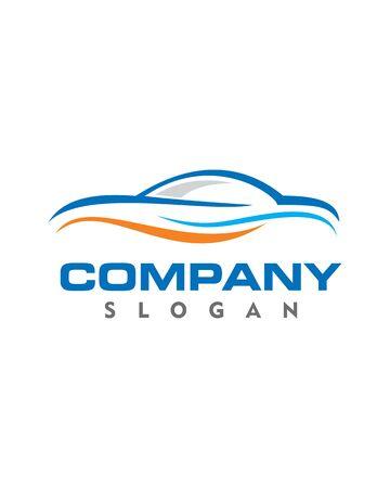 simple logo: Automotive Simple Logo Illustration