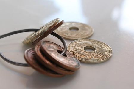 Metal medal of thailand