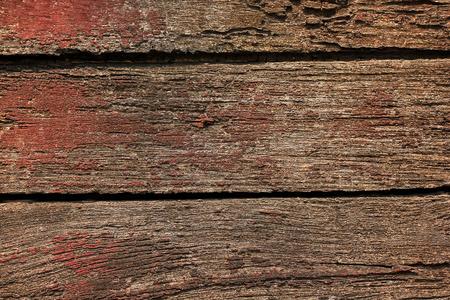 Old wood planks peeling paint
