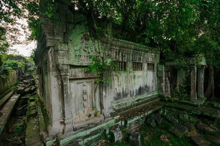 Bueng Mala Castle Het koninkrijk van Khmer dat in het verleden instortte