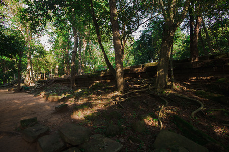Bueng Mala Castle Khmer Empire in the past