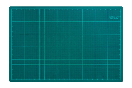 cutting mat isolated on white background.