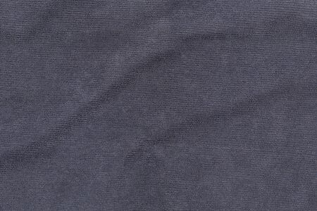 Gray bath towel texture for background and design