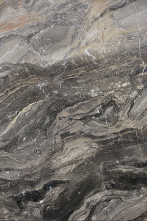 Closeup gray marble with natural pattern texture background.