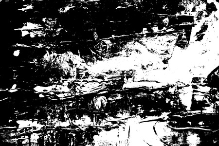 Abstract dirty dark grunge background. Monochrome texture. Effect the black and white tones. Black and white oil or acrylic painting.