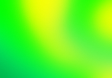 Colourful blurred green and yellow gradient background.