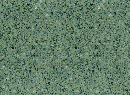Green mottled terrazzo floor tile surface texture background. Imagens