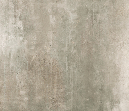 Dirty grey concrete wall with stains texture background. Imagens