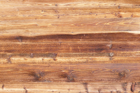 Closeup old dry pine wood board texture background.