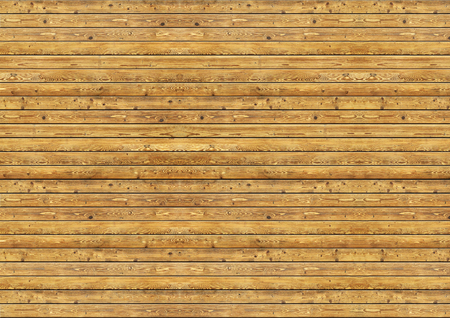 Brown pine wood plank wall texture background. Imagens