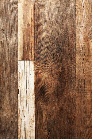 Old dry oak wooden boards texture background.
