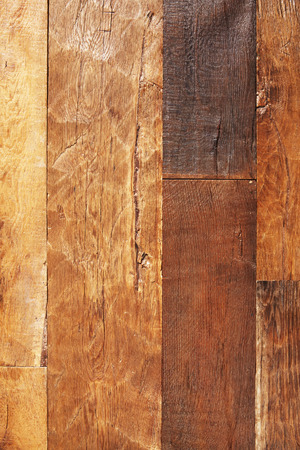 Dry lacquered oak wooden boards texture background.