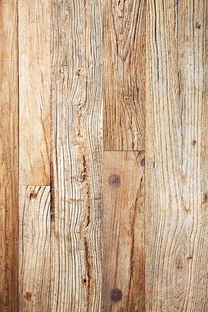 Dry vintage oak wooden boards texture background. Imagens
