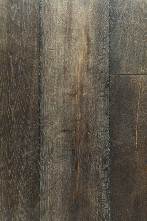 Old dark dry oak wooden boards texture background. Imagens - 121741555