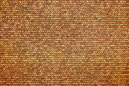Gold bronze metal surface with abstract pattern texture background. Looks like wicker basket.