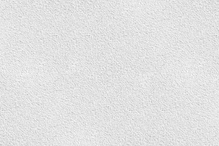 Fondo bianco di struttura della parete dello stucco. Parete intonacata e dipinta di bianco con superficie ruvida.
