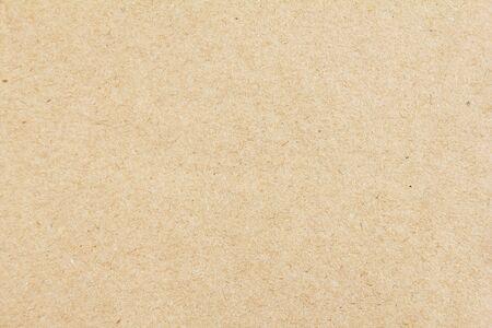 Braunes beige Blatt Handwerk Karton Papier Textur Hintergrund.