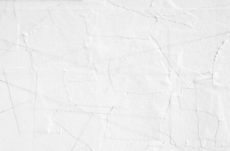 Torn pieces of white paper masking tape texture background. Imagens