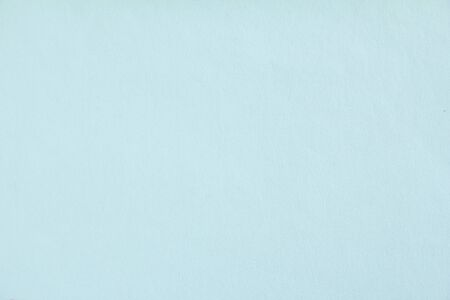 Azure blue sheet of drawing paper texture background.