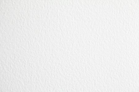 Closeup white blank sheet of paper with rough surface texture background.