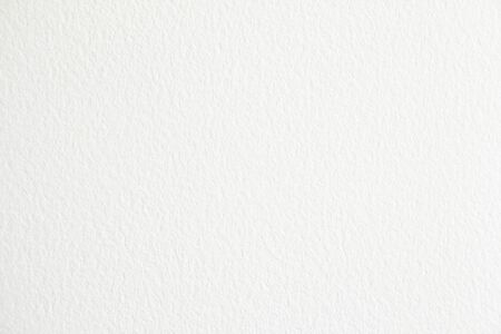 White blank sheet of paper with rough surface texture background. Banco de Imagens