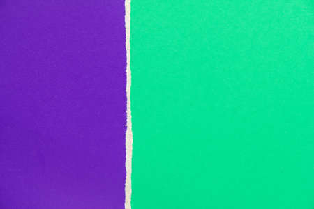 Green and purple violet cardboard paper texture background. Can be used for text.