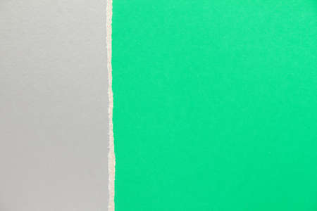 Green and silver gray cardboard paper texture background. Can be used for text.