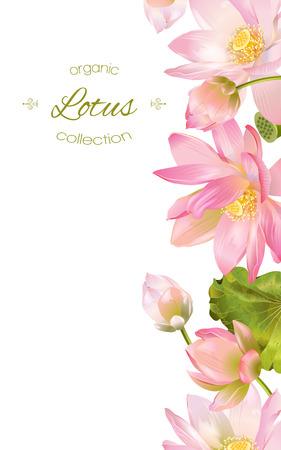 Lotus flower banner