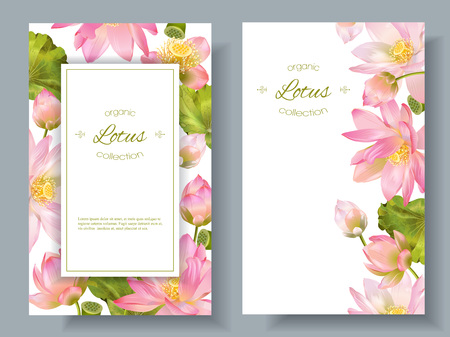 Lotus flower banners