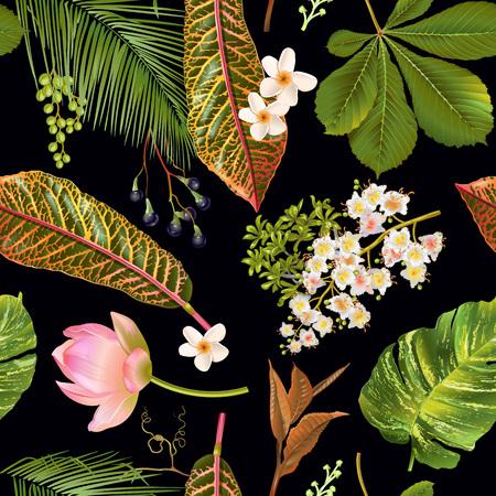 Tropial plantenpatroon