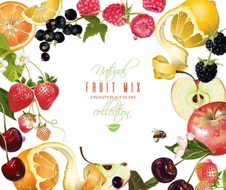 Fruit mix banner