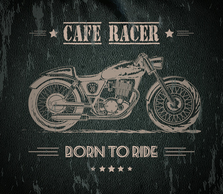 Motorcycle graphic banner