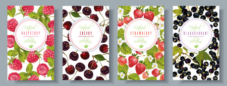 Berry banners set