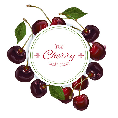 Cherry vertical banners