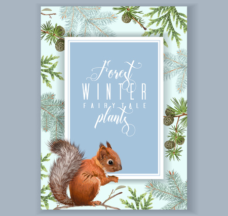 Winter bullfinch A 4 banner