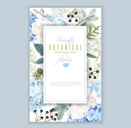 Hidrangea winter frame