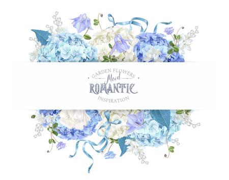Hydrangea spring composition